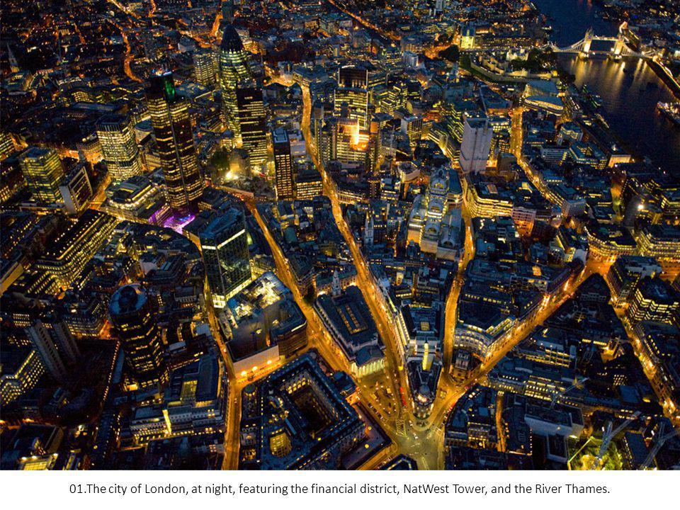 LONDON ÉJSZAKAI LÉGIFELVÉTELEK Fotók: Jason Hawkes Fotók: Jason Hawkes Zene: Chiquitita-Kauzay Zene: Chiquitita-Kauzay
