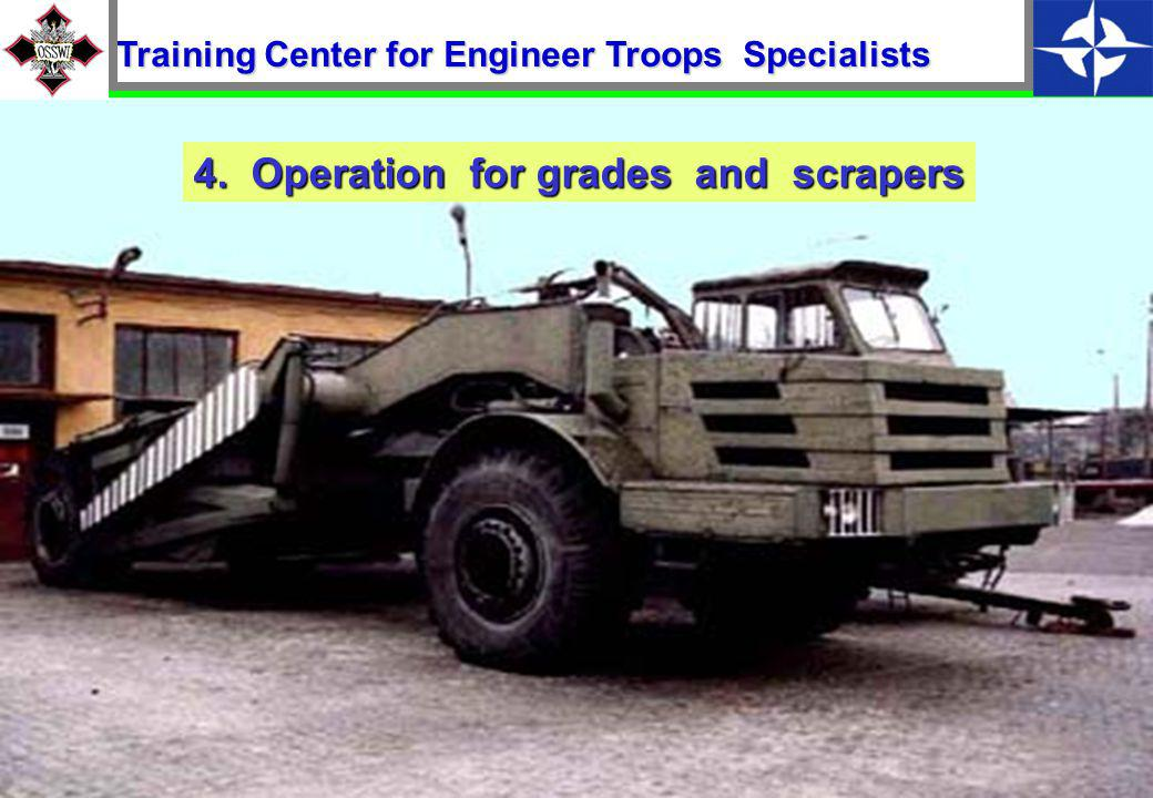 14 Operation of bulldozer-loaders 3. Training Center for Engineer Troops Specialists