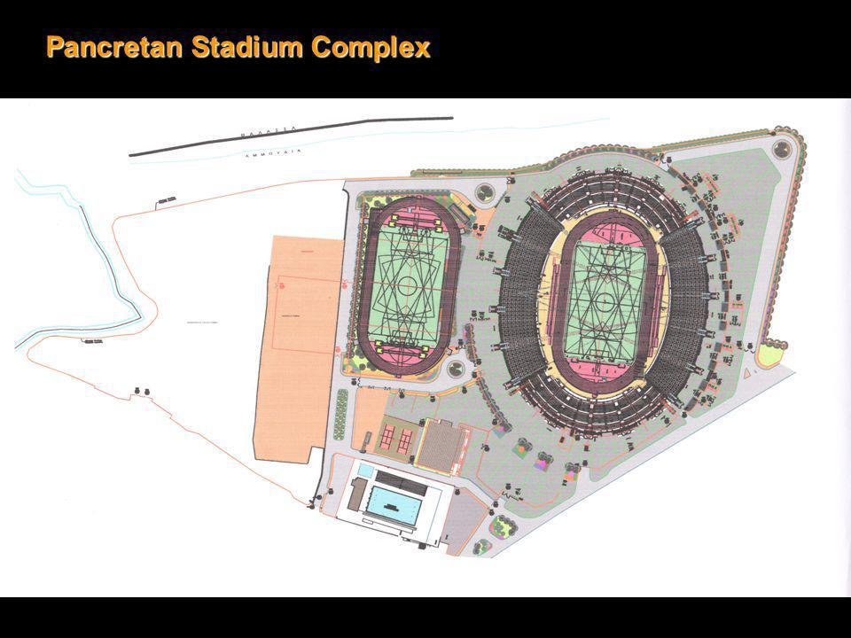 Pancretan Stadium-City Centre2, 9 Km./ 6 min (drive) Pancretan Stadium -Port3, 8 Km.