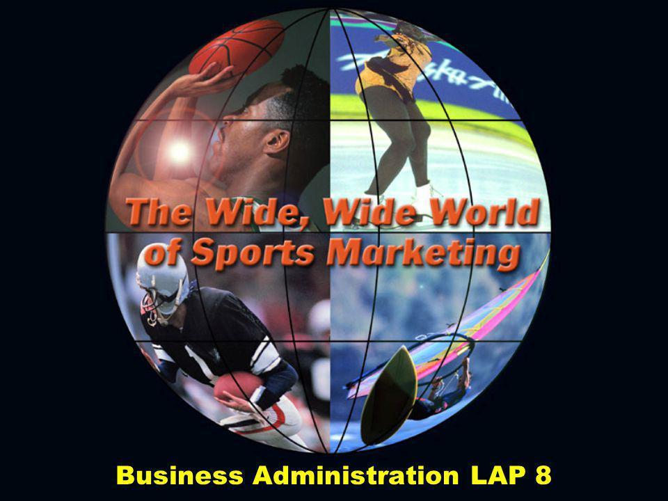 Consumers of Sports Include: Unorganized participantsUnorganized participants Organized participantsOrganized participants SpectatorsSpectators SponsorsSponsors