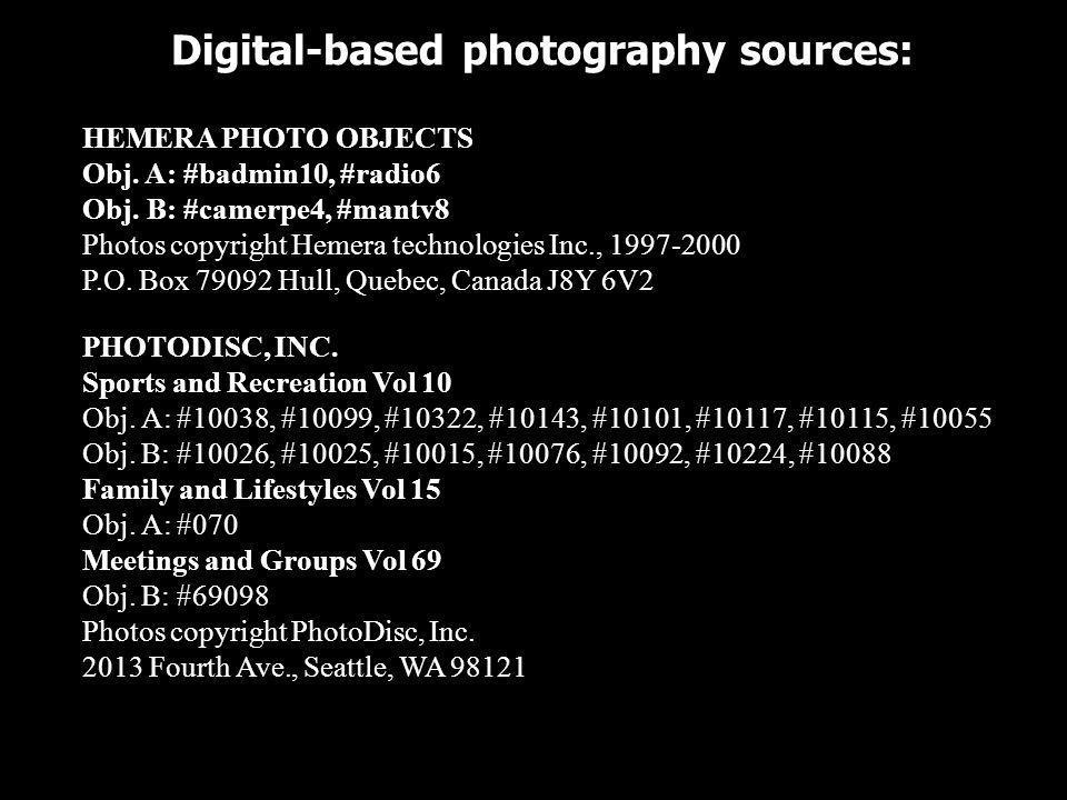 Digital-based photography sources: CORBIS CORP. Womens Life Obj. A: #082 Photos copyright Corbis Corp. 750 Second Street, Encinitas, CA 92024 COREL CO