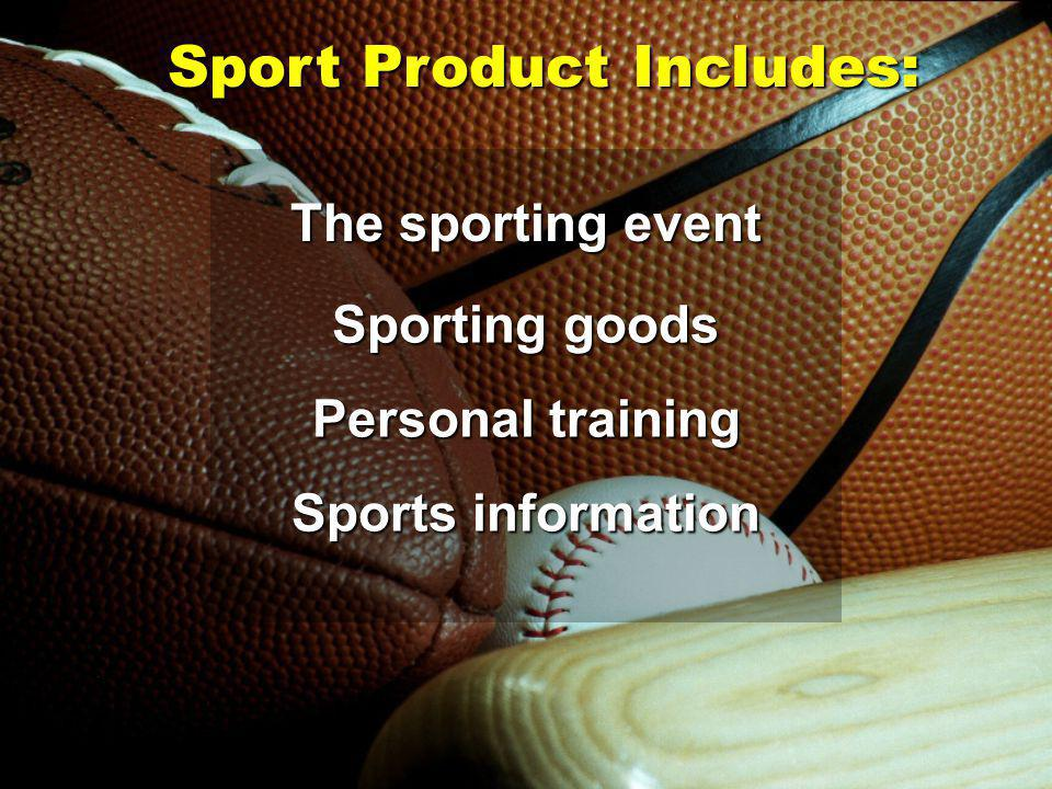 Sponsorships are an important part of sports marketing.