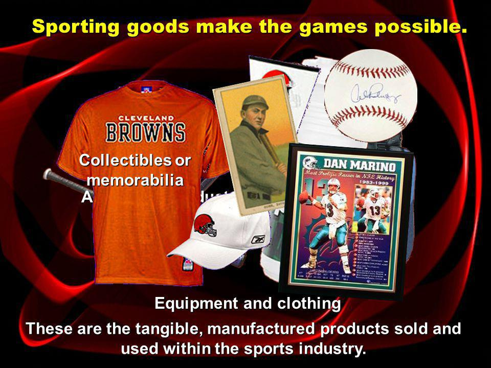 Sporting event is the first thing that comes to mind when you think of the sport product.