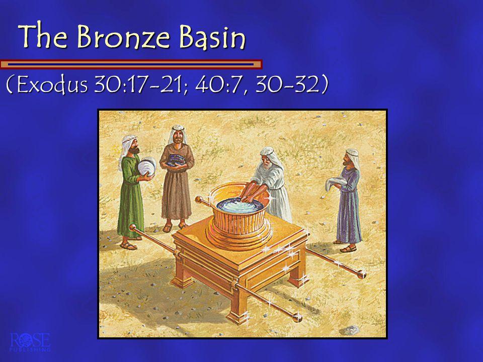 (Exodus 30:17-21; 40:7, 30-32)