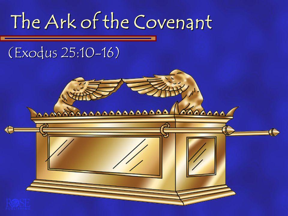 (Exodus 25:10-16)