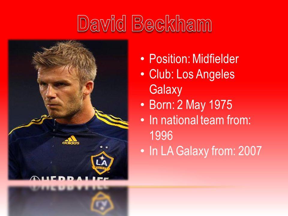 Position: Midfielder Club: Chelsea F.C.