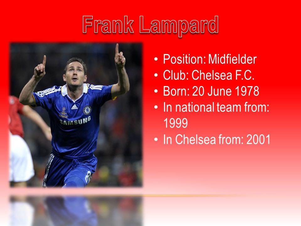Position: Defender Club: Chelsea F.C.