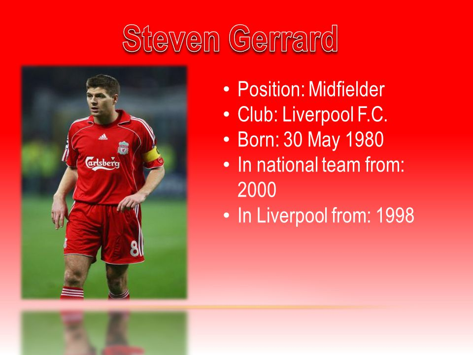 Position: Midfielder Club: Liverpool F.C.