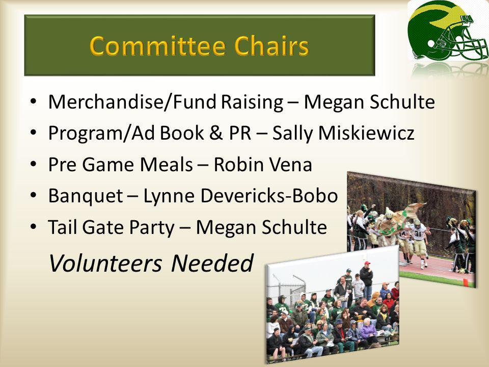 Volunteers Needed 2011 Football Season Guaranteed Fun.