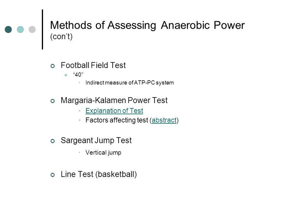 Energy Requirements Football Specific responsibilities vary considerably between positions BUT all players must perform maximally each play Energy Requirements 90% ATP-PC (over-estimate?) Remaining contribution from glycolytic energy system Kraemer & Gotshalk 2000 Specific Demands D-III Game ObservationsTotal Number Plays Observed1193 Series Observed259 Series per game14.4 Plays per series4.6 % of series greater than 6 plays 31.2% % of series greater than 10 plays 8.1%
