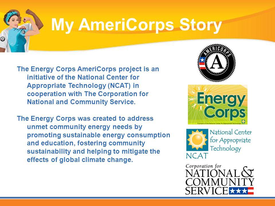 Walton Arts Center 2010-2011 My AmeriCorps Story
