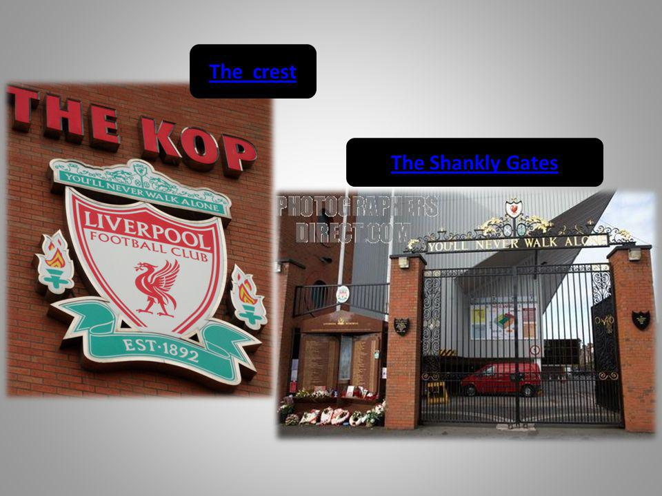 The crest The Shankly Gates