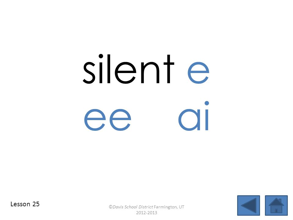 blend individual syllables identify vowel patterns speed blend together identify vowel patterns blend individual syllables ©Davis School District Farmington, UT 2012-2013