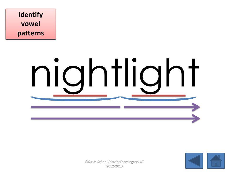 right nightlighthighsight limelightbaselinebaselinetightropenighttime pushpinmidnightfirefighthighlight ©Davis School District Farmington, UT 2012-2013
