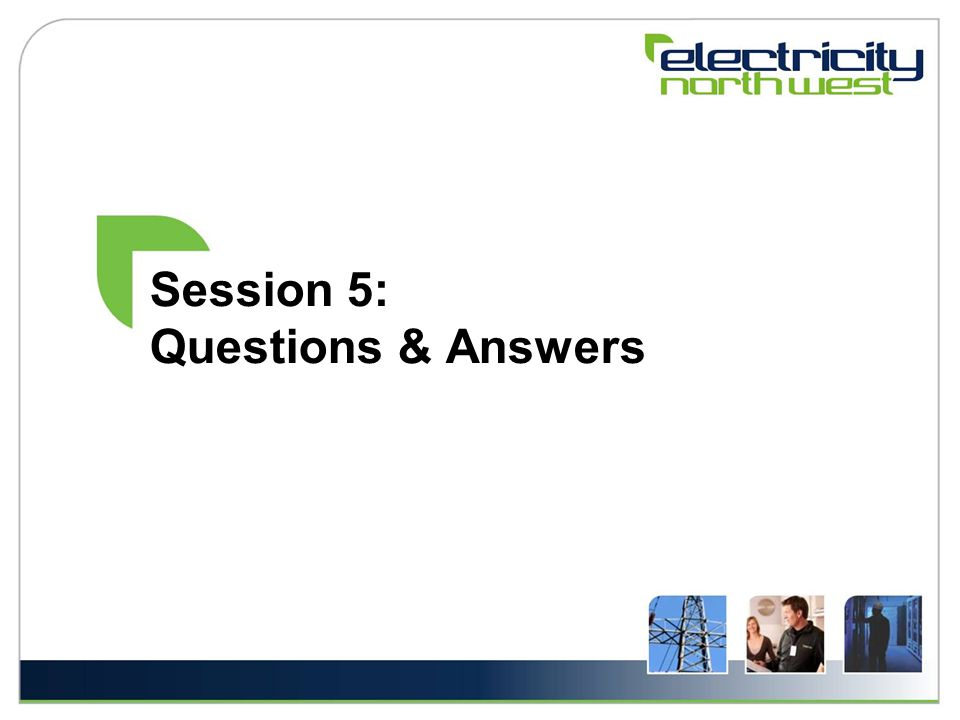 Session 5: Questions & Answers