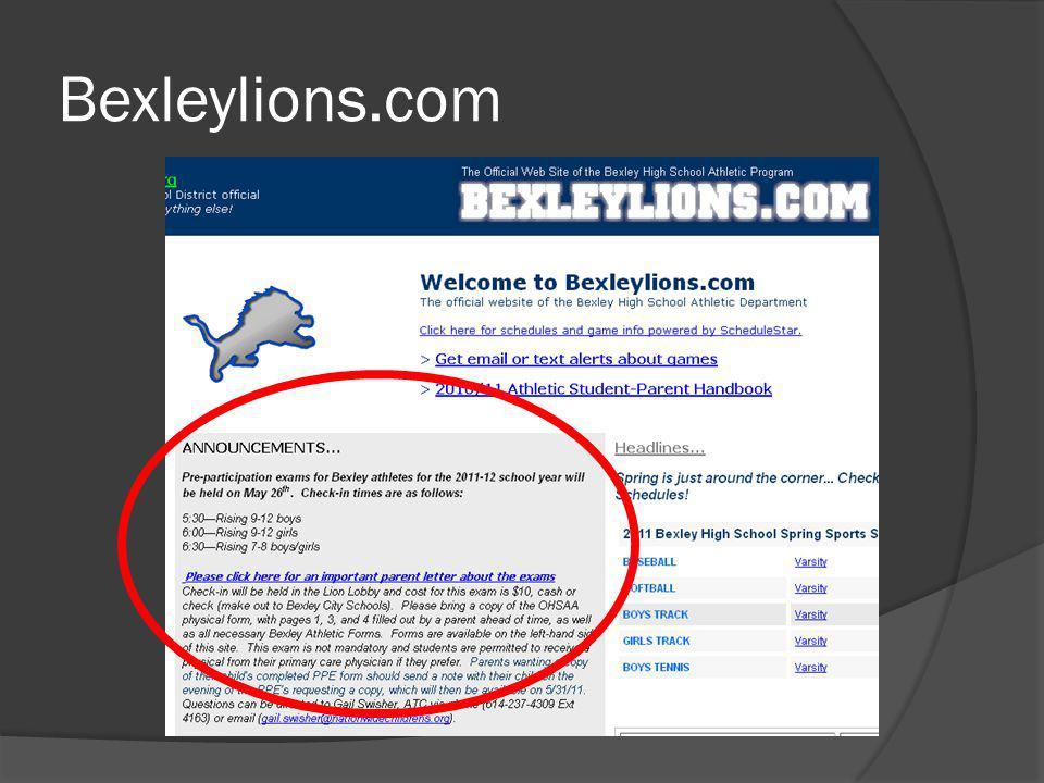 Bexleylions.com
