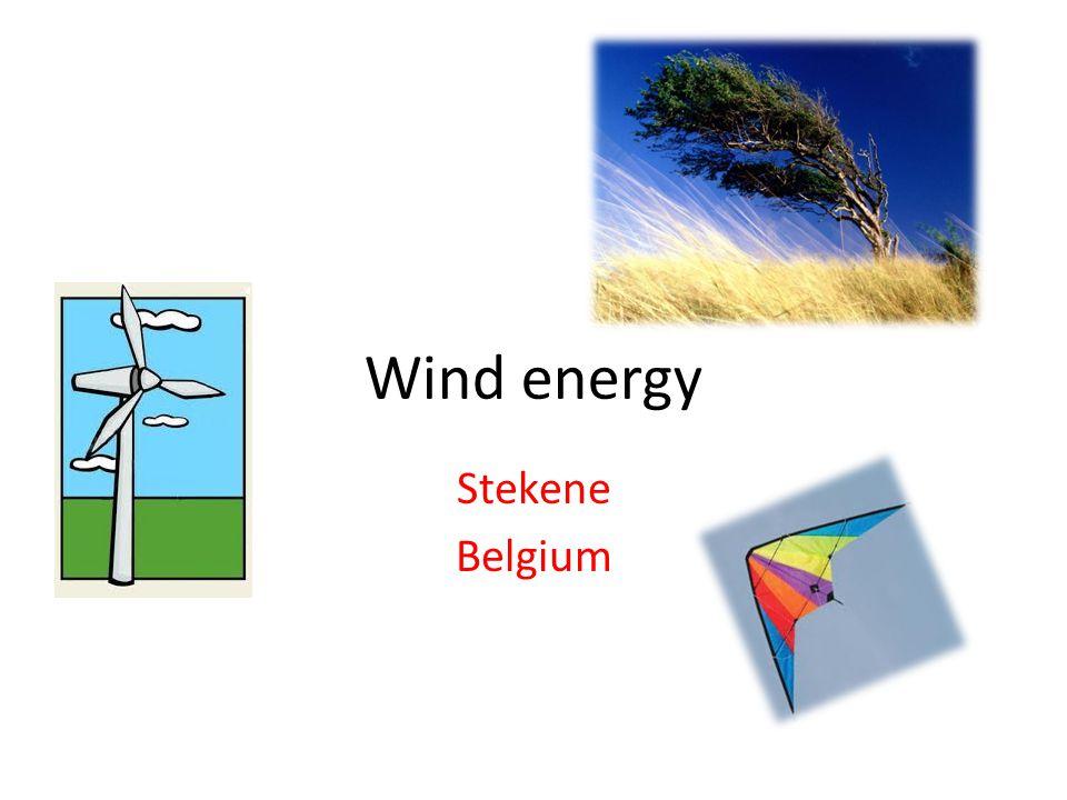 Wind energy Stekene Belgium