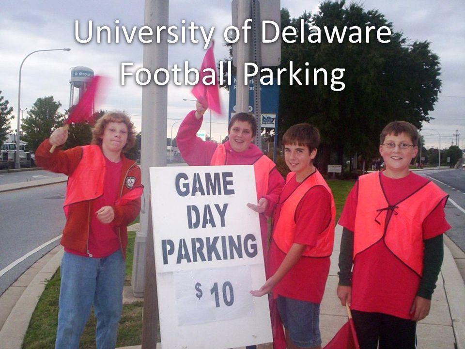 University of Delaware Football Parking University of Delaware Football Parking