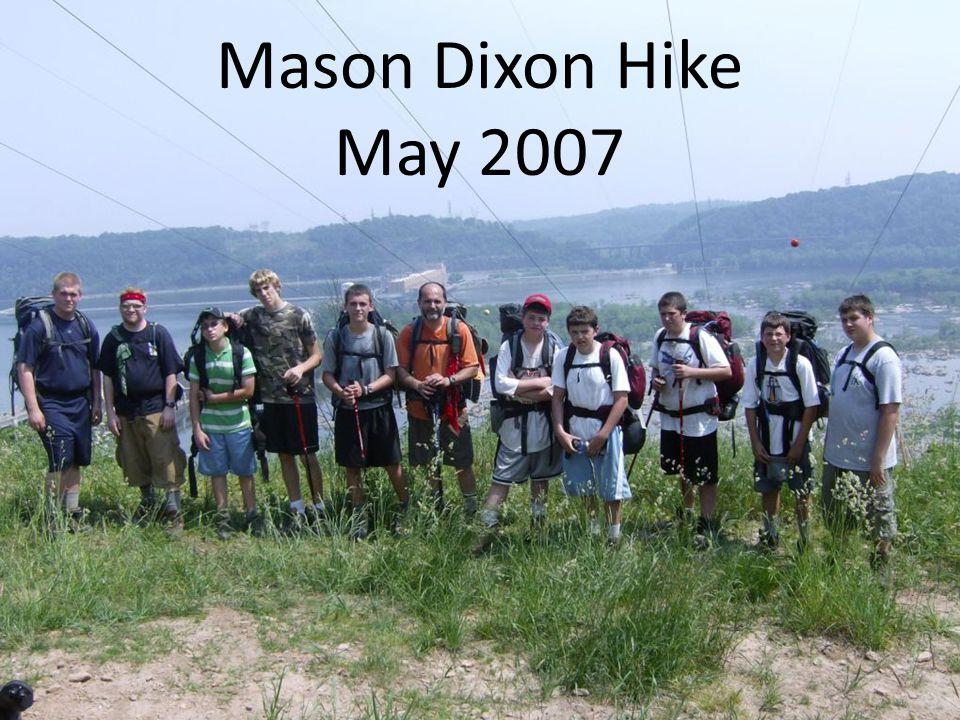 Mason Dixon Hike May 2007