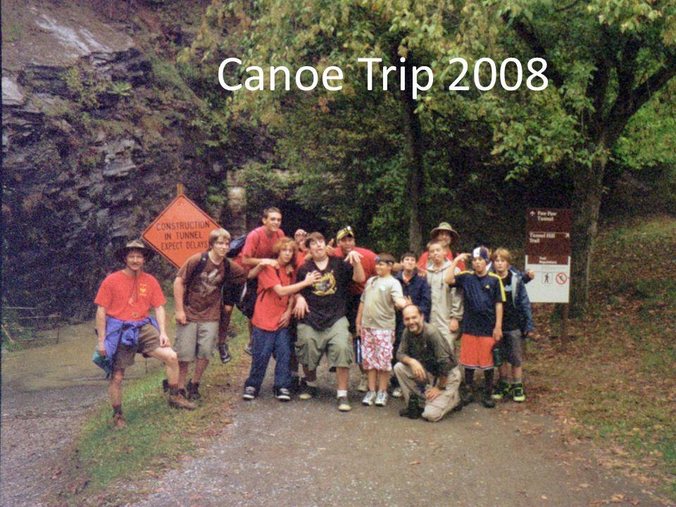 Canoe Trip 2008