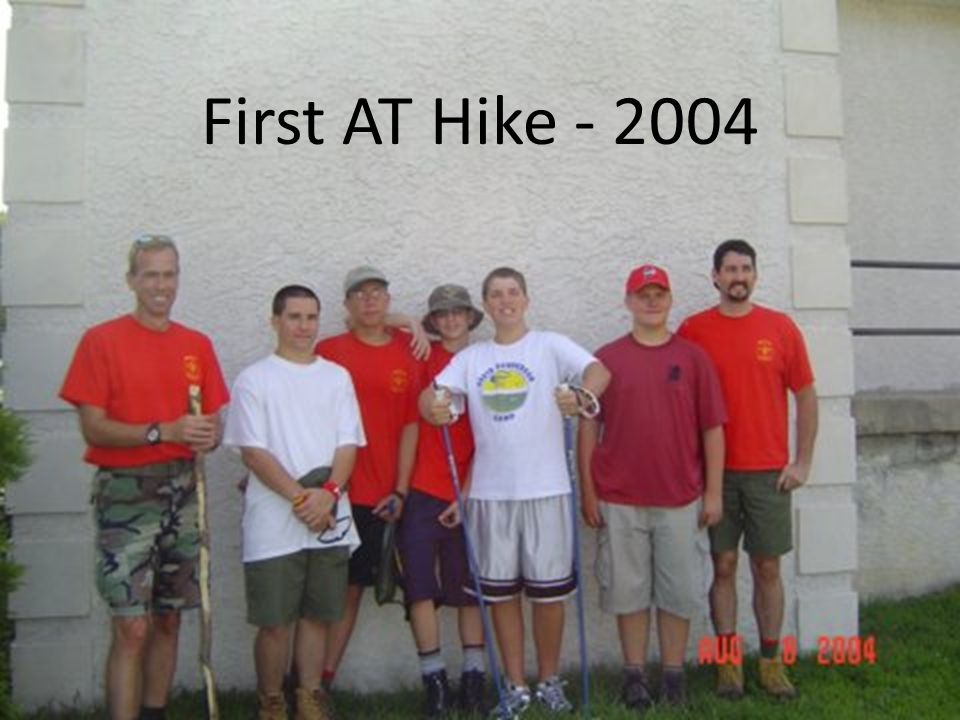 First AT Hike - 2004