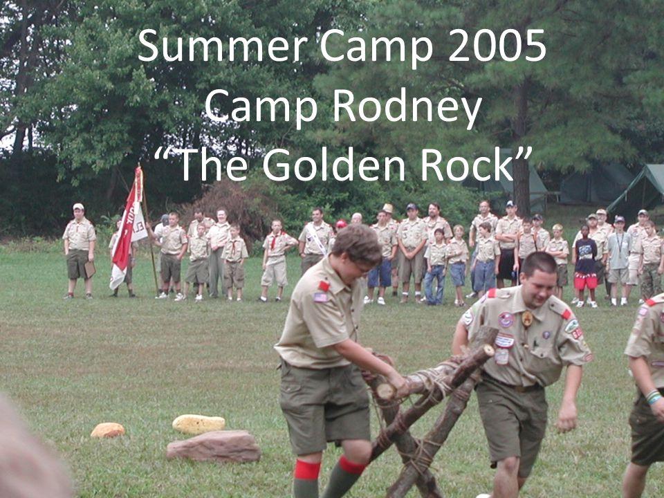 Summer Camp 2005 Camp Rodney The Golden Rock
