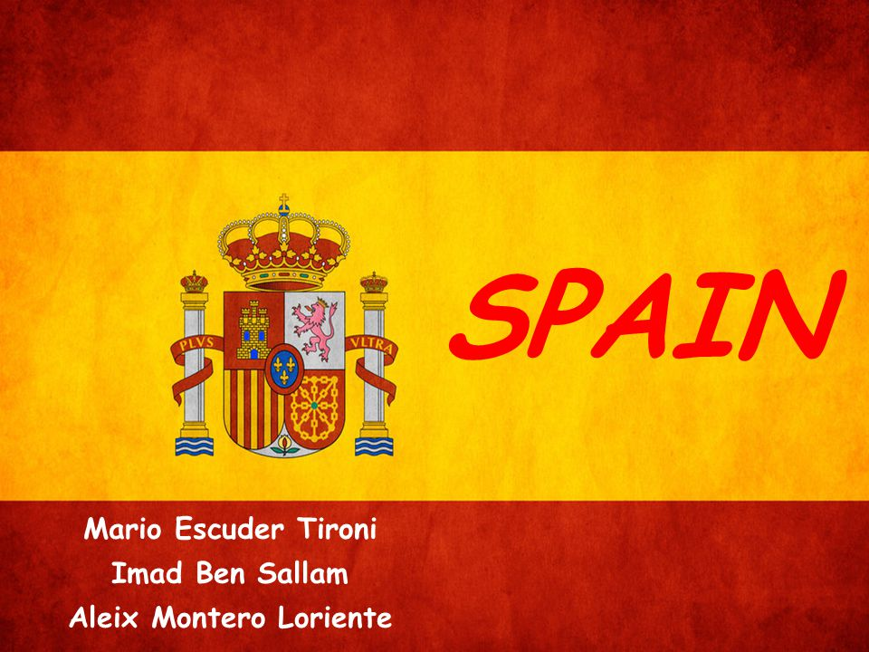 SPAIN Mario Escuder Tironi Imad Ben Sallam Aleix Montero Loriente