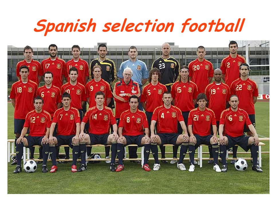 Spanish selection football