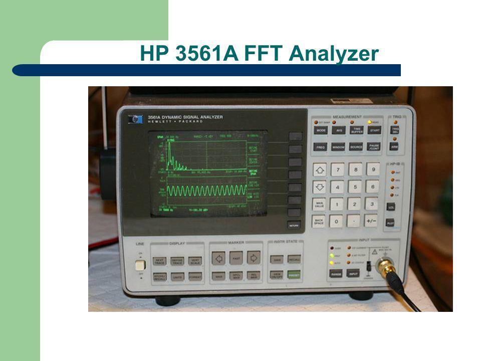 HP 3561A FFT Analyzer