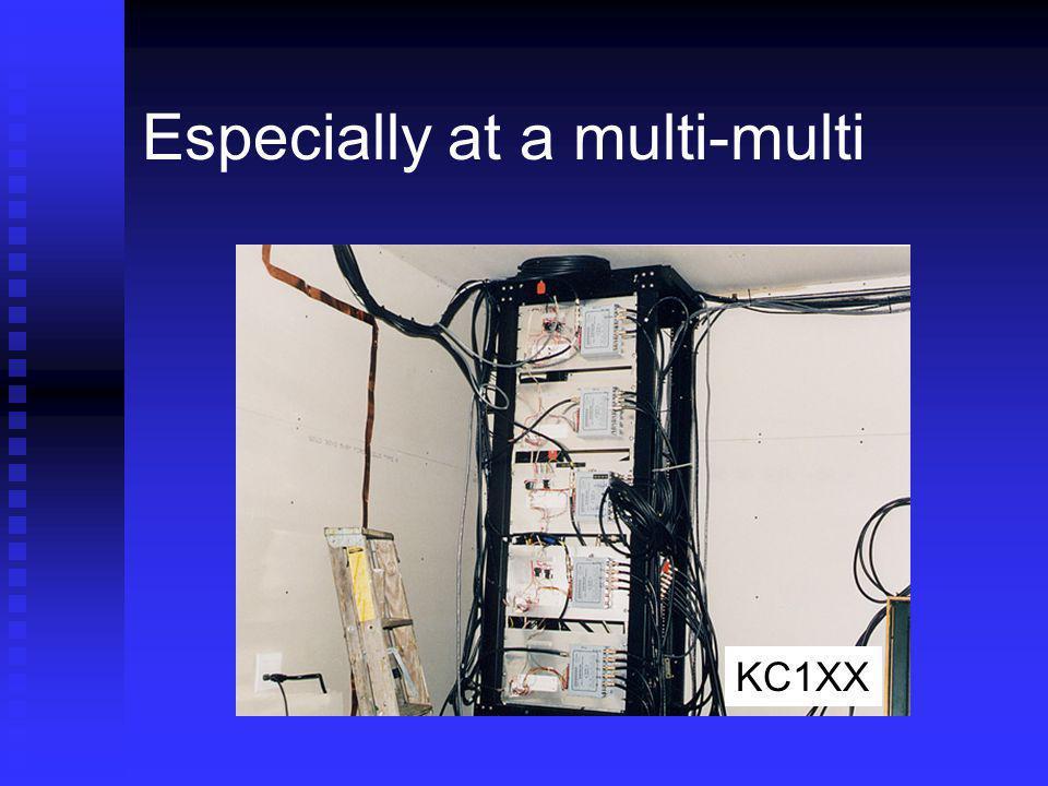 Especially at a multi-multi KC1XX