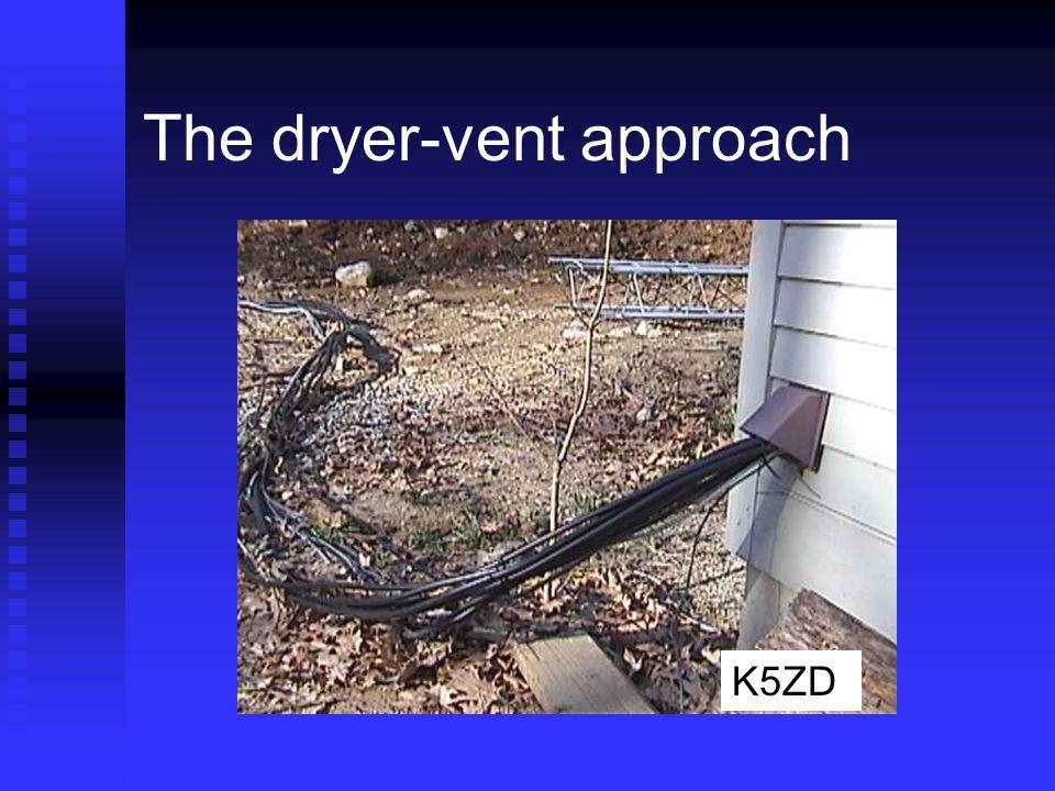The dryer-vent approach K5ZD