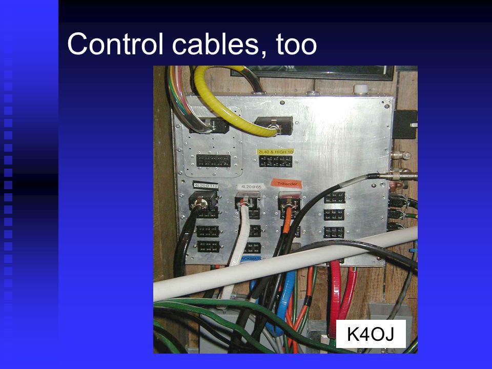 Control cables, too K4OJ
