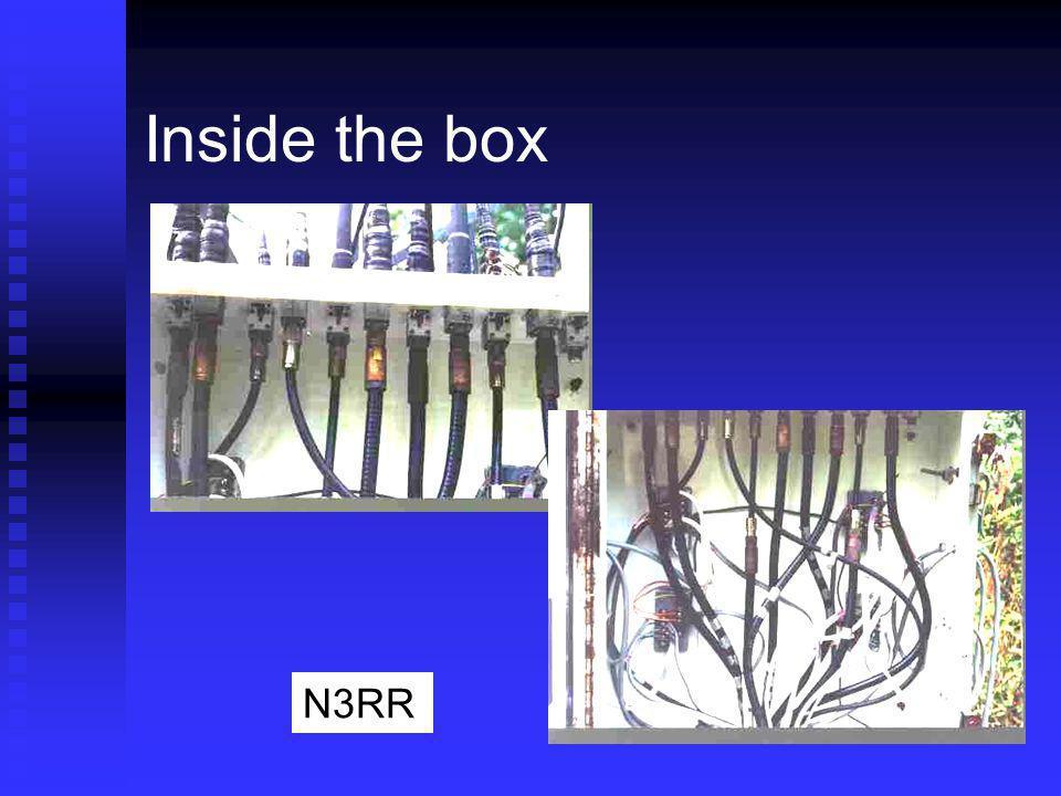 Inside the box N3RR