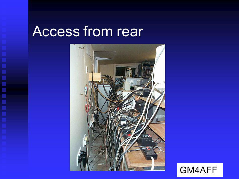 Access from rear GM4AFF