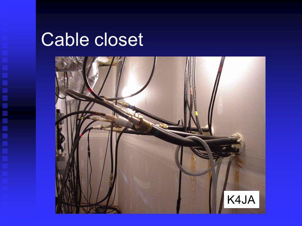 Cable closet K4JA