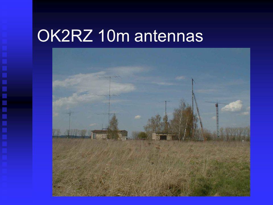 OK2RZ 10m antennas