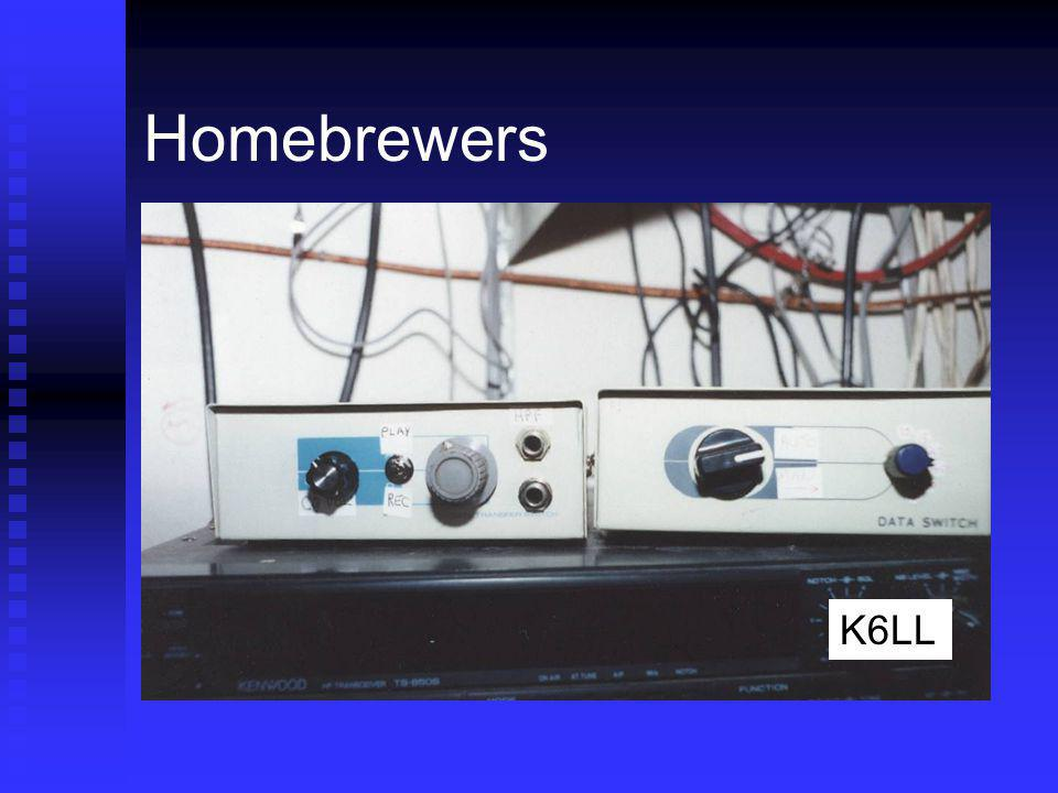 Homebrewers K6LL