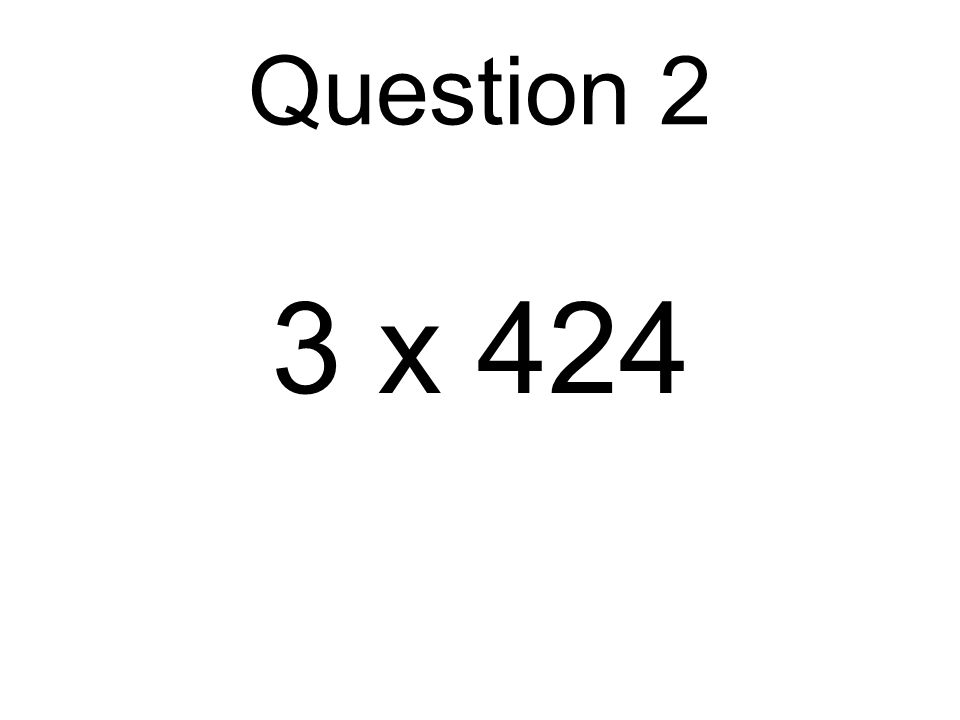 6 x 40 Question 7