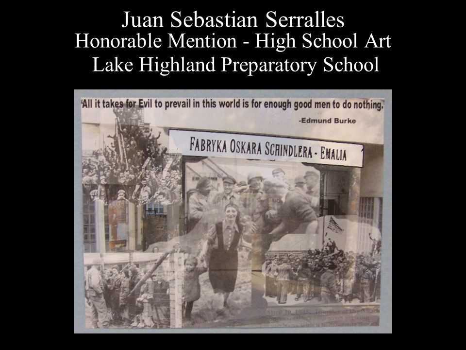 Juan Sebastian Serralles Honorable Mention - High School Art Lake Highland Preparatory School