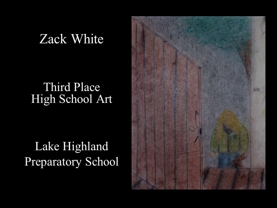 Zack White Third Place High School Art Lake Highland Preparatory School
