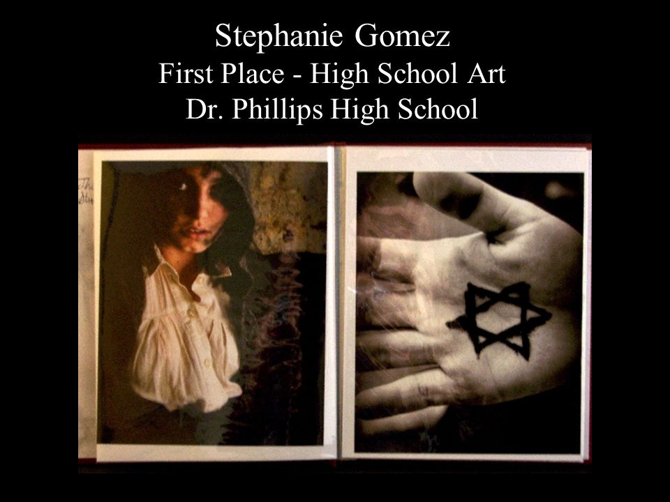 Stephanie Gomez First Place - High School Art Dr. Phillips High School
