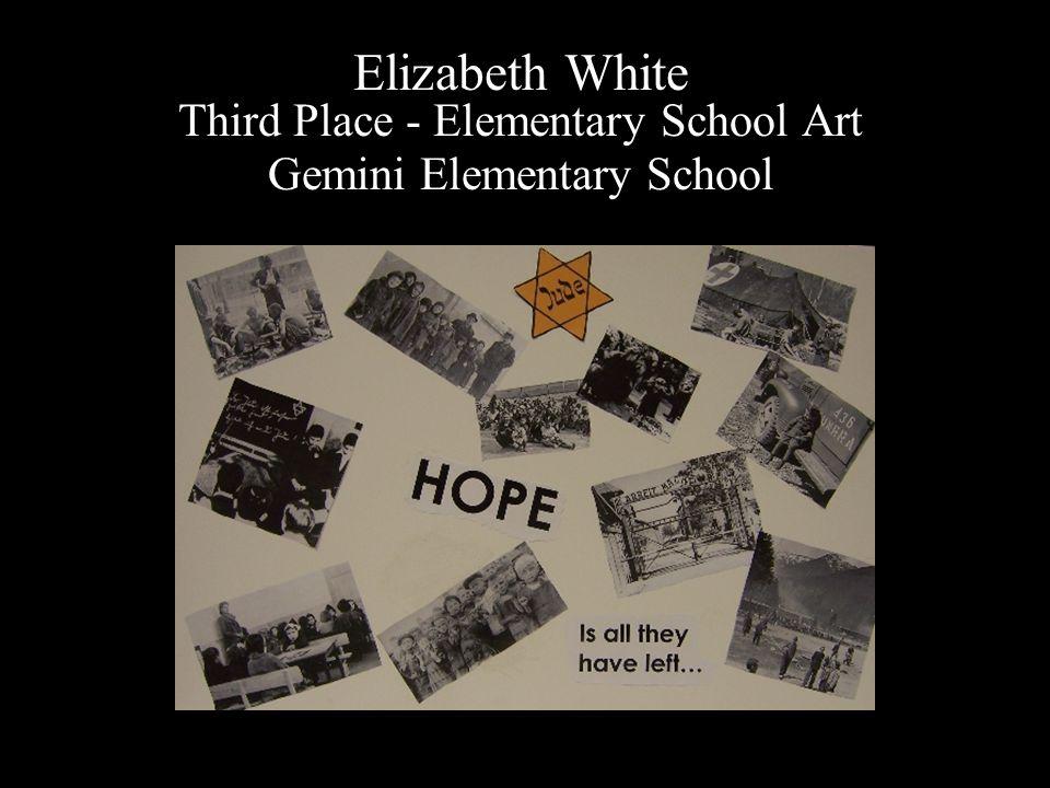 Elizabeth White Third Place - Elementary School Art Gemini Elementary School