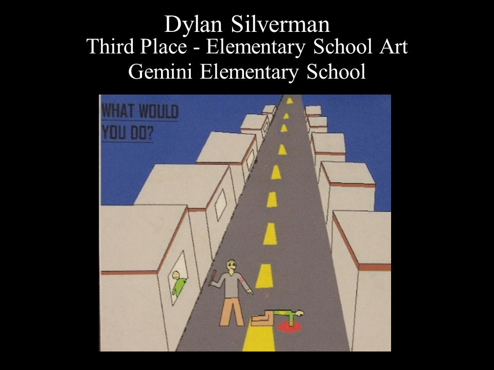 Danny Miller Second Place – Elementary School Art H ebrew Day School