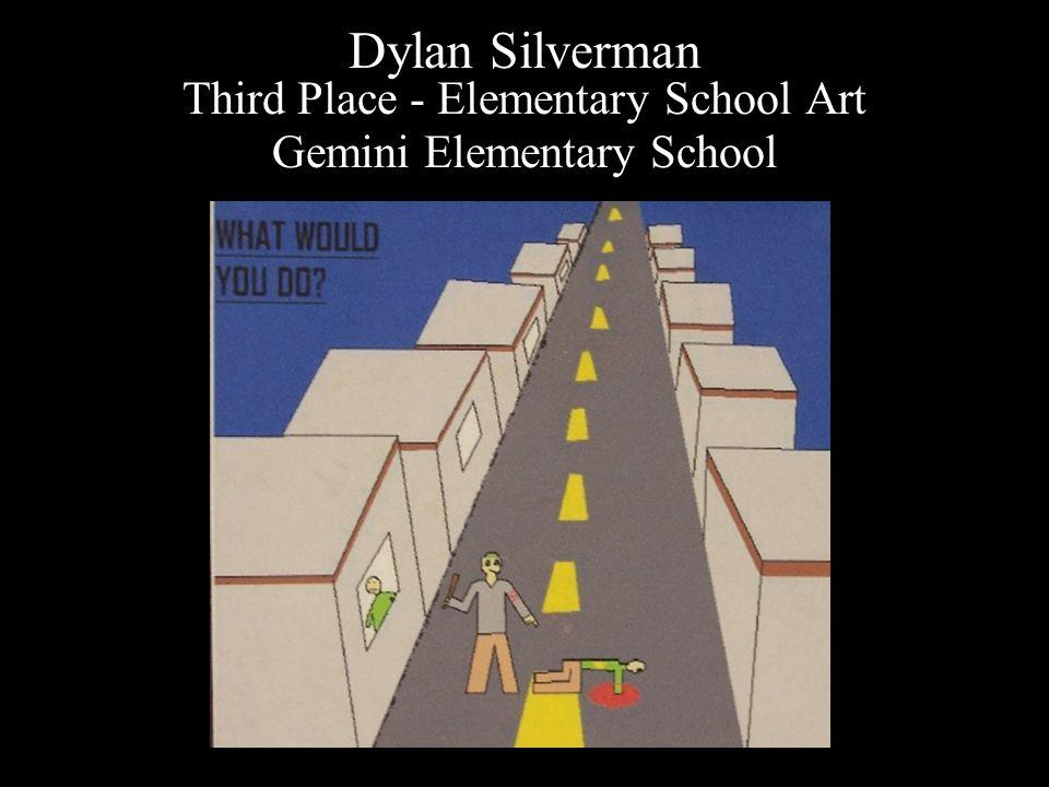 Dylan Silverman Third Place - Elementary School Art Gemini Elementary School