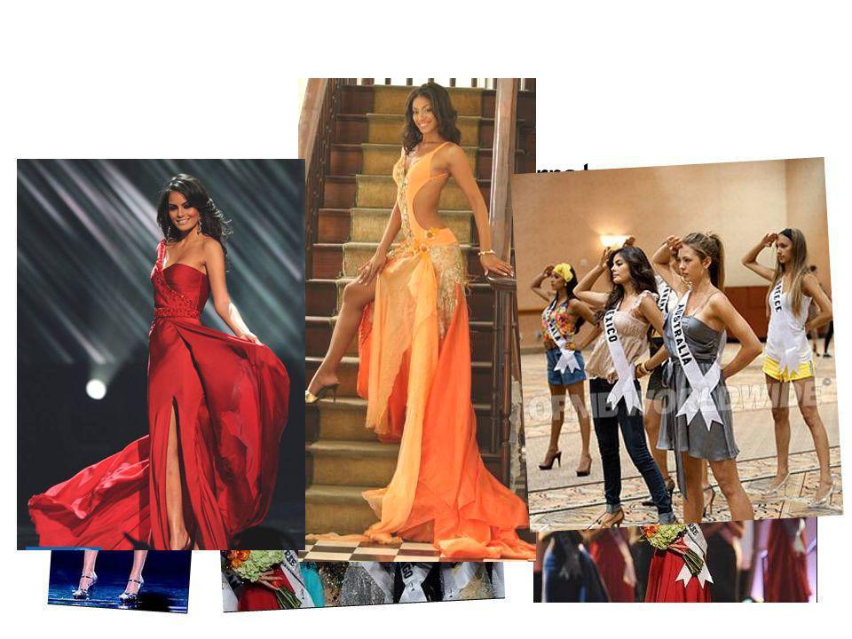 Miss Mexico, Jimena Navarrete Miss Jamaica, Yendi Phillipps Miss Australia, Jesinta Campbell