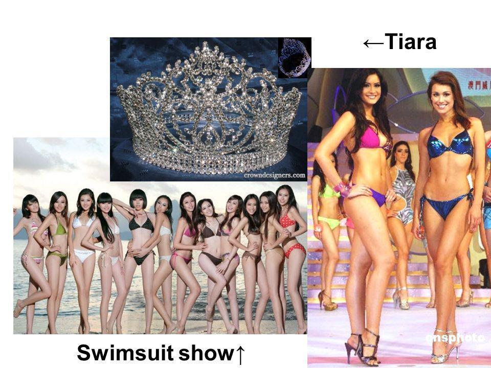 Tiara Swimsuit show
