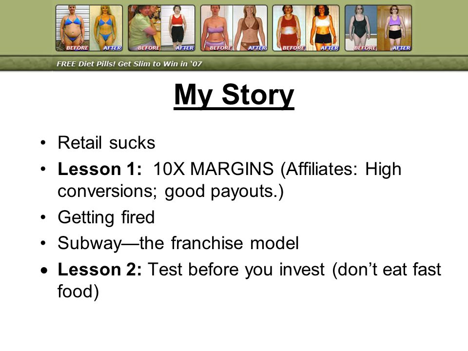Value creation Started contest model Lesson 18: You cant do it alone (rugged individualist) Lesson 19: Focus on unique ability Lesson 20: Build business brain Lesson 21: Big check theory SlimBodyCoach.com