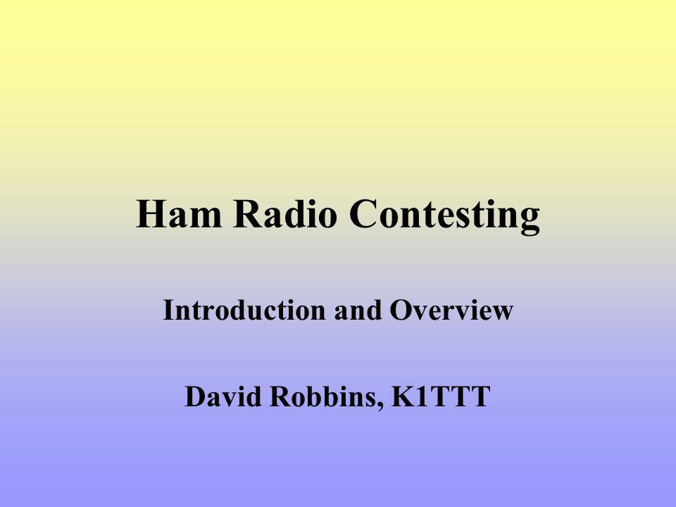 ARRL 10m Most likely band openings –New England, NY, NJ, PA – All 48 hours –Outside ground wave range it is a classic Follow the Sun pattern.