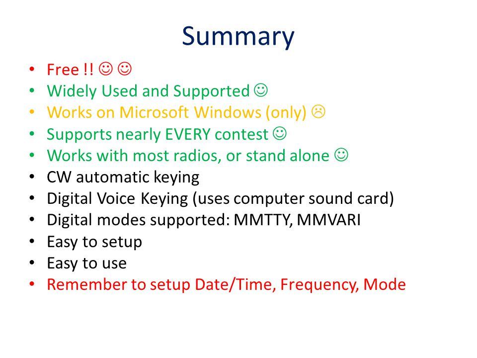 Summary Free !.