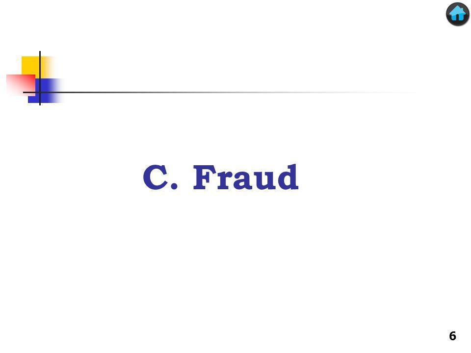 C. Fraud 6